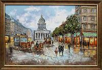 Картина «Городской пейзаж. Ретро стиль», фото 1