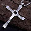 Серебряный Крест Доминика Торетто (кулон Вина Дизеля)