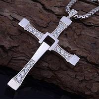 Серебряный Крест Доминика Торетто (кулон Вина Дизеля), фото 1