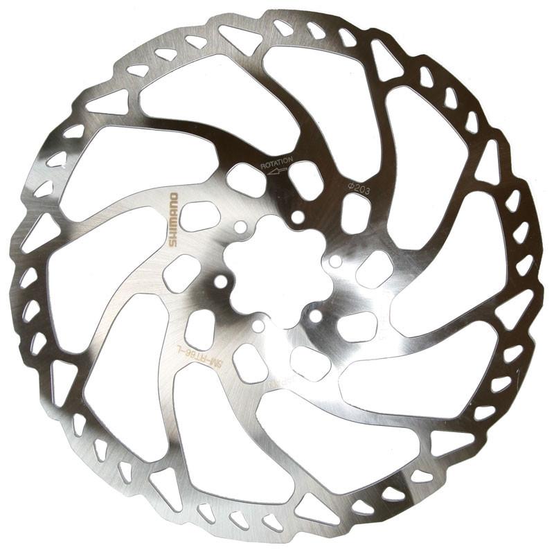 Гальмiвний ротор Shimano SM-RT66-L 203мм