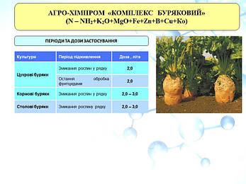 Микроудобрения хелаты ЕДТА Комплекс Свекольный /Буряковий; для сахарной, столовой и кормовой свеклы, фото 2