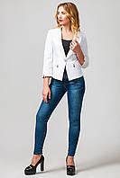 Пиджак женский Крит белый (42-50)