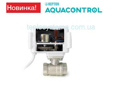 """Кран с электроприводом NEPTUN AQUACONTROL 220В  1"""" , фото 2"""