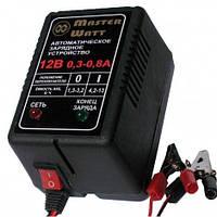 Автоматическое зарядное устройство 0,3-0,8А 12В для аккумуляторов мотоциклов