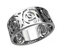 Кольцо серебряное Розы 20903