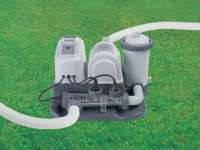 Intex 28674(54616) хлоргенератор и фильтр насос