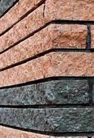 Камень фасадный Рустик (графит) БК