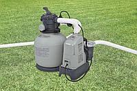 Intex 28676(56678) хлоргенератор и насос фильтр