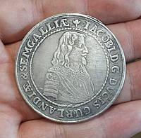 Талер 1643 г Курляндия Якоб Кетлер копия №550