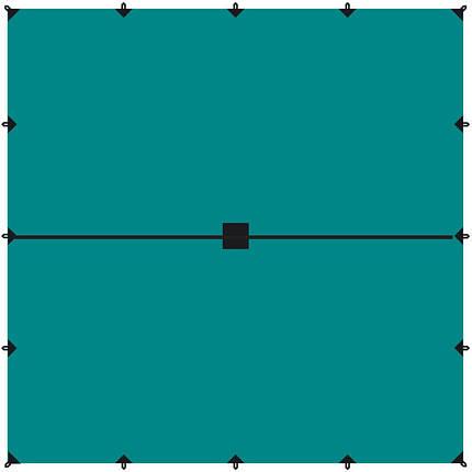 Тент 6х6 Tramp TRT-103.04, фото 2