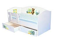 Кроватка Домик Мишка с медом