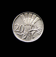 20 геллеров 1933 года никель Чехословакия копия №650