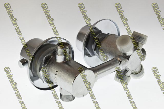 Смеситель с термостатом GT - 04 для гидромассажных ванн, джакузи встраиваемый на борт.