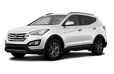 Подножки боковые для Hyundai Santa Fe (2013-2016)