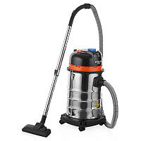 Промышленный и строительный пылесос для сухой и влажной уборки пыли Энергомаш 30 л, 1600 Вт  ПП 72030