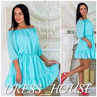 Шифоновое платье  и-40175