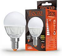 Led лампочка Tecro PRO-G45-5W-3K-E14