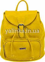 Сумка-рюкзак Желтая 1 Вересня 31х12х30 (553082)