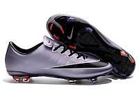 Футбольные бутсы Nike Mercurial Vapor X FG Urban Lilac/Black/Bright Mango/White, фото 1