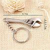 Брелок для ключей Разводной ключ, фото 3