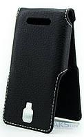 Чехол Status Side Flip Series Lenovo A1000 Black Matte