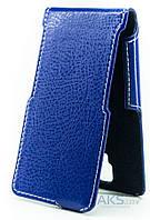Чехол Status Side Flip Series Lenovo A1000 Dark Blue