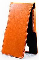 Чехол Status Side Flip Series Lenovo A536 Orange