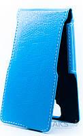 Чехол Status Side Flip Series Lenovo A536 Light Blue
