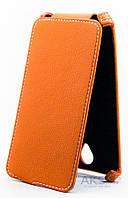 Чехол Status Standart Flip Series Lenovo A5000 Orange