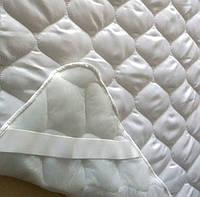 Стеганый наматрасник на резинках Comfort night хлопок 160х200