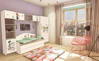 """Комплект мебели для детской комнаты """"Гламур"""""""