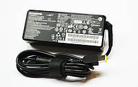 Блок питания Lenovo (20V 4.5A 90W КВАДРАТНЫЙ, USB, С ИГЛОЙ) зарядное ноутбук