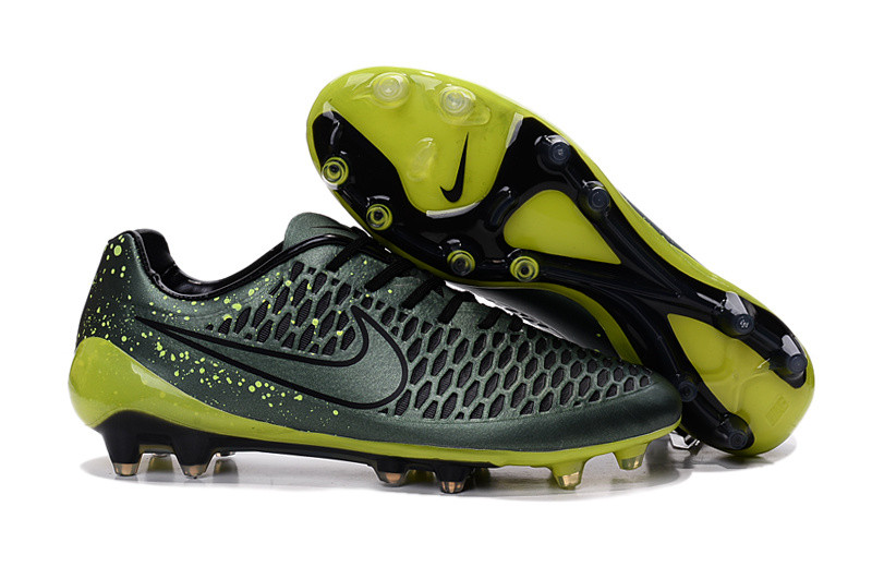 Футбольные бутсы Nike Magista Opus FG Dark Citron/Volt/Black