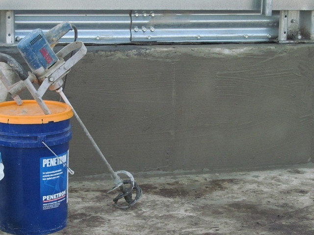 ПРоникающая гидроизоляция для бетона Пенетрон