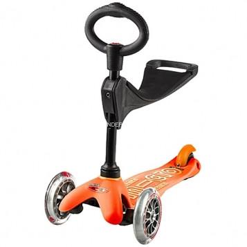 Самокат Mini Micro 3in1 Deluxe Orange (Оранжевый)