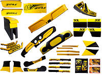 Полный тюнинг салона ВАЗ 2101 - 2107 желтый Люкс