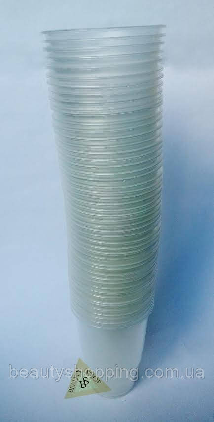 Пластиковые одноразовые стаканы для пива 480 мл 50 штук
