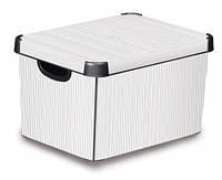 Ящик для хранения 23 л Deco`s Stockholm Classic