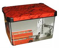 Ящик для хранения 23 л Deco`s LONDON