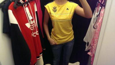 Футболка сборной Украины adidas