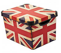 Ящик для хранения 23 л Deco`s British flag