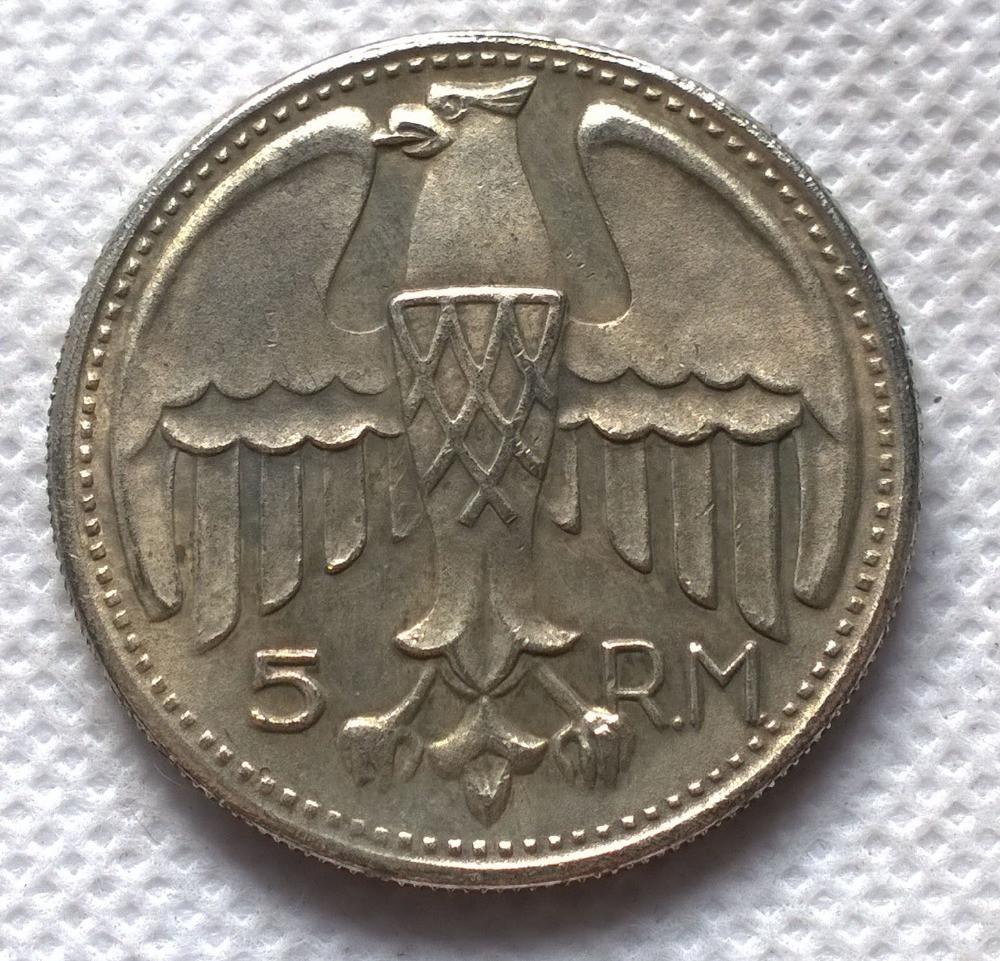 5 рейхсмарок 1935 года цена где продать иностранные монеты