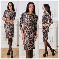 Стильное женское платье у-40194