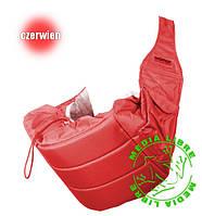 Кенгуру - слинг для переноски детей Banana №11 standart ( красный ) Womar