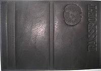 Обложка на паспорт цвет черный