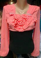 Блузка нарядная Роза!