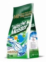 Стиральный порошок Wasche Meister универсал 10,5кг, 140 стирок Германия, фото 2