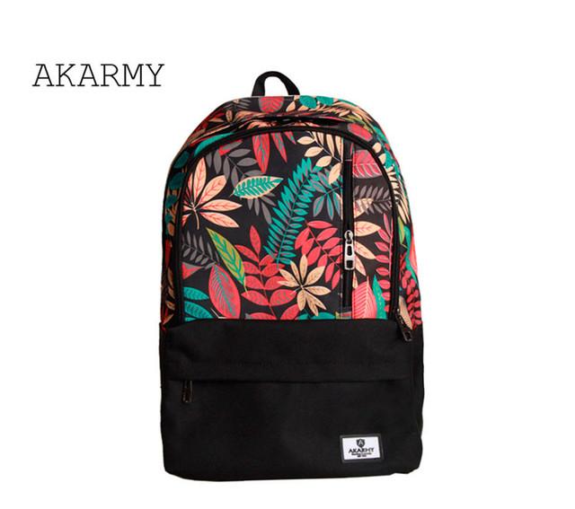 Рюкзак Akarmy | красный вид спереди