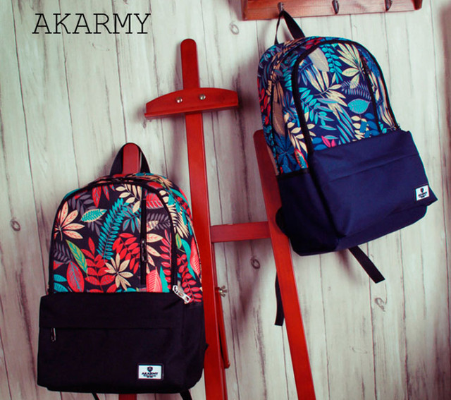 Рюкзаки Akarmy | красный и синий