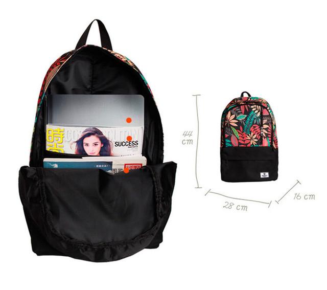 Внутреннее устройство рюкзака